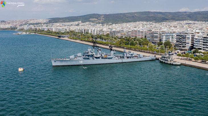 Το Αντιτορπιλικό «Βέλος» στη Θεσσαλονίκη