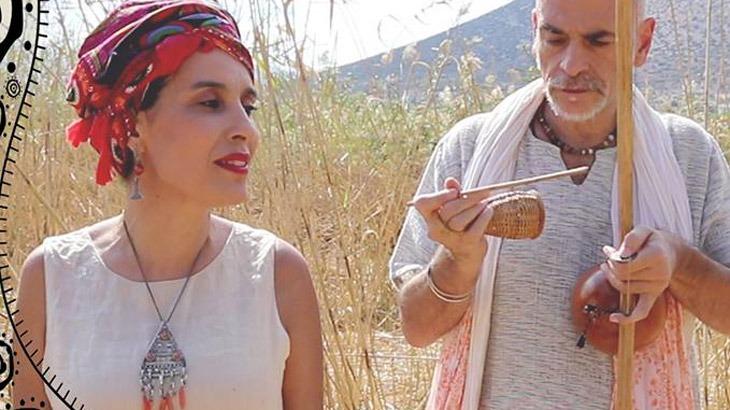 Lamia Bedioui & Σόλης Μπαρκή