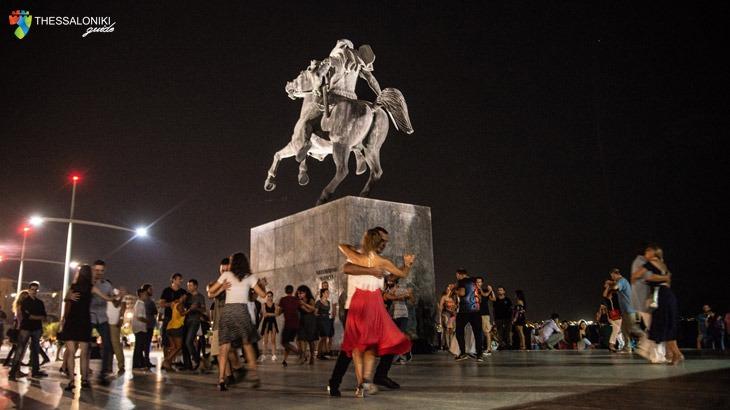 Tango, Τανγκό - Άγαλμα του Μεγάλου Αλεξάνδρου