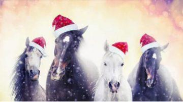 Χριστουγεννιάτικα Αλογοπαιχνίδια