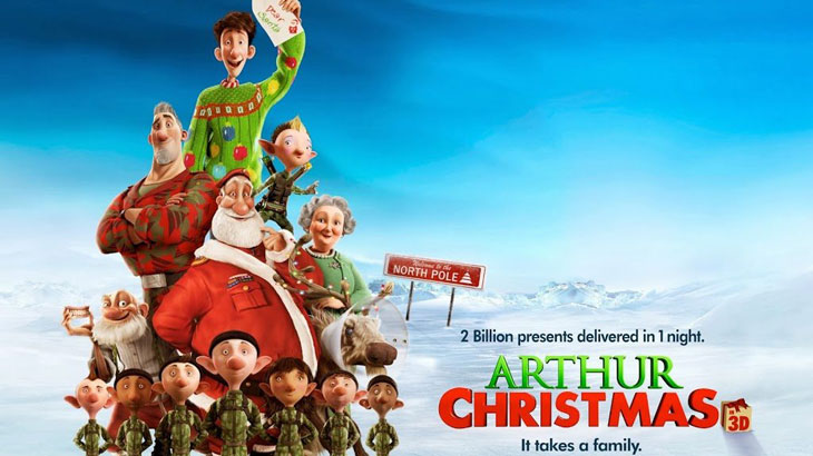 Ο γιος του Άι Βασίλη -Arthur Christmas (2011)