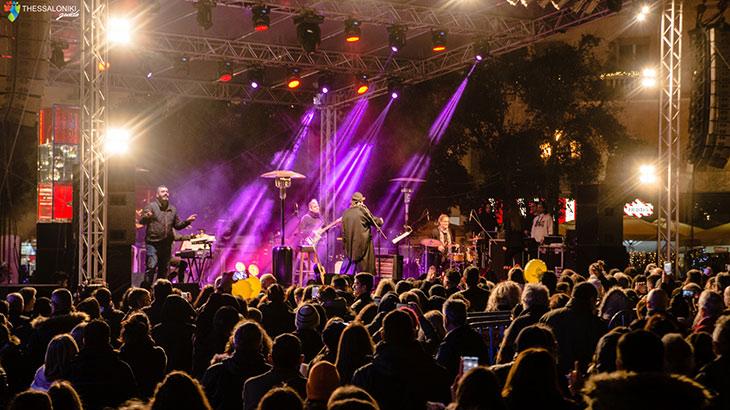 Συναυλία του Διονύση Σαββόπουλου στην Πλ.Αριστοτέλους