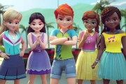 Lego Friends Girls On A Mission