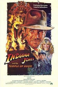 Αφίσα της ταινίας Ο Ιντιάνα Τζόουνς και ο Ναός του Χαμένου Θησαυρού (Indiana Jones and the Temple of Doom)