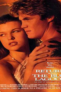 Αφίσα της ταινίας Επιστροφή στη Γαλάζια Λίμνη (Return to the Blue Lagoon)