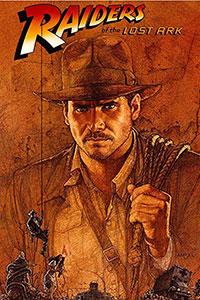 Αφίσα της ταινίας Ο Ιντιάνα Τζόουνς Και Οι Κυνηγοί Της Χαμένης Κιβωτού (Raiders of the Lost Ark)