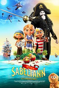 Αφίσα της ταινίας O Πειρατής Μαυροδόντης και το Μαγικό Διαμάντι (Captain Sabertooth and the Magic Diamond)