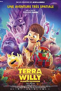 Αφίσα της ταινίας O Πλανήτης του Γουίλι (Terra Willy: Planète Inconnue)