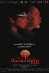 Αφίσα της ταινίας Καράτε Κιντ 2 (The Karate Kid II)