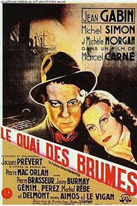 Αφίσα της ταινίας Το Λιμάνι των Απόκληρων (Le Quai des Brumes)