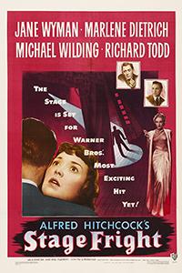 Αφίσα της ταινίας Ο Δολοφόνος Έρχεται Κάθε Βράδυ (Stage Fright)