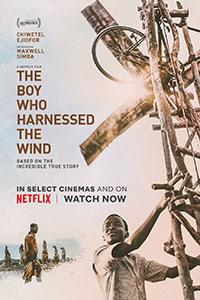 Αφίσα της ταινίας Το Αγόρι που Δάμασε τον Άνεμο (The Boy Who Harnessed the Wind)