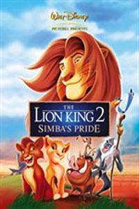 Αφίσα της ταινίας Ο Βασιλιάς των Λιονταριών II: Το Βασίλειο του Σίμπα (The Lion King II: Simba's Pride)