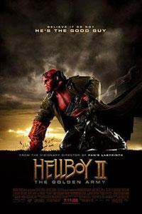 Αφίσα της ταινίας Hellboy II: Η χρυσή στρατιά (Hellboy II: The Golden Army)