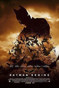 Αφίσα της ταινίας Μπάτμαν: Η Αρχή (Batman Begins)