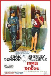 Αφίσα της ταινίας Η Τροτέζα/ Γλυκιά μου Ίρμα (Irma la Douce)
