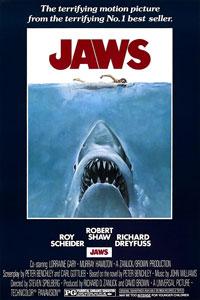 Αφίσα της ταινίας Τα Σαγόνια του Καρχαρία (Jaws)
