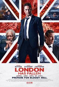 Αφίσα της ταινίας Το Λονδίνο Έπεσε (London Has Fallen)