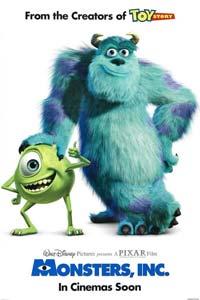 Αφίσα της ταινίας Μπαμπούλας Α.Ε. (Monsters, Inc.)