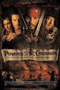 Αφίσα της ταινίας Οι Πειρατές της Καραϊβικής: Η Κατάρα του Μαύρου Μαργαριταριού (Pirates of the Caribbean: The Curse of the Black Pearl)