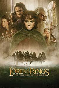 Αφίσα της ταινίας Ο Άρχοντας των Δαχτυλιδιών: Η Συντροφιά του Δαχτυλιδιού (The Lord of the Rings: The Fellowship of the Ring)