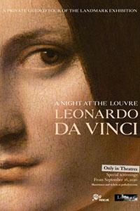 Αφίσα της ταινίας A Night at the Louvre : Leonardo da Vinci