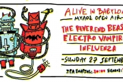 The Reverend Beasts, Electro Vampires & Influenza Live στο Μύλος Open Air