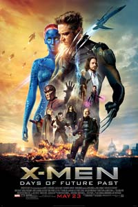 Αφίσα της ταινίας X-Men: Ημέρες ενός Ξεχασμένου Μέλλοντος (X-Men: Days of Future Past)